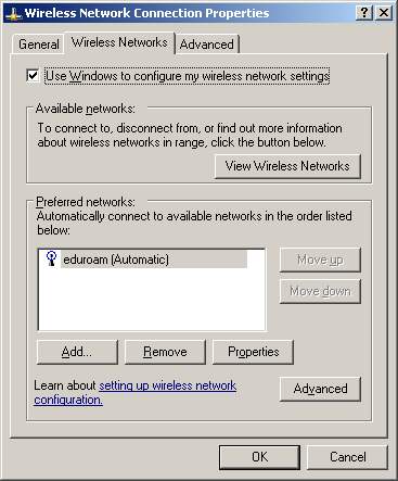 Wireless Network Connection - Wireless Network